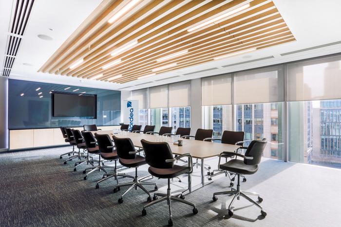 蒂凡利普发布我们常常会说这个办公室风格是北欧风,那个 办公家具定制图片