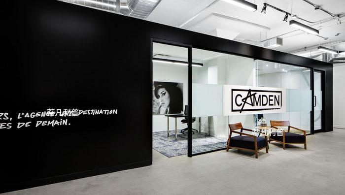 办公家具定制-蒙特利尔Camden办公空间欣赏